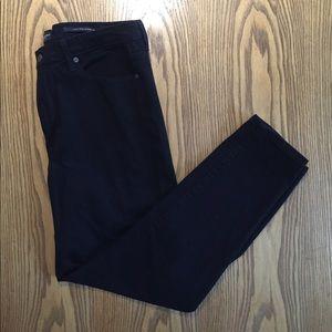 NWOT Banana Rep High Rise Skinny Black Jeans 32